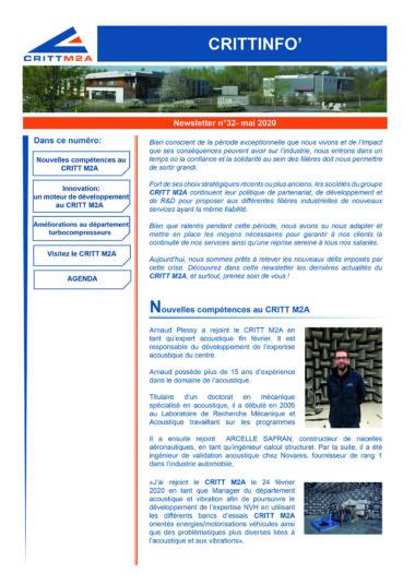 N°32 – Mai 2020